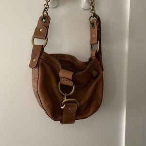 Jcrew Vachetta Leather small purse with buckles